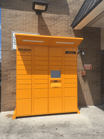 Locker Amazon compras internet