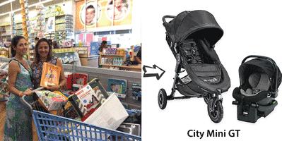 CityMini carrinho bebe