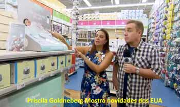 PRISCILA GOLDENBERG MOSTRA NOVIDADES NO PROGRAMA DO GUGU