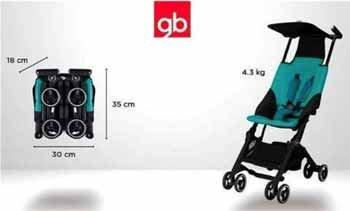 pockit menor carrinho de bebe