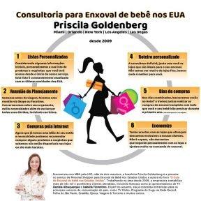 Consultoria Enxoval bebe EUA Personal Shopper Priscila