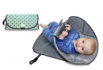 trocador de fralda de bebê portatil