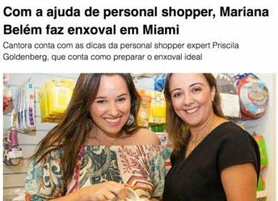 Mariana Belém Revista Caras
