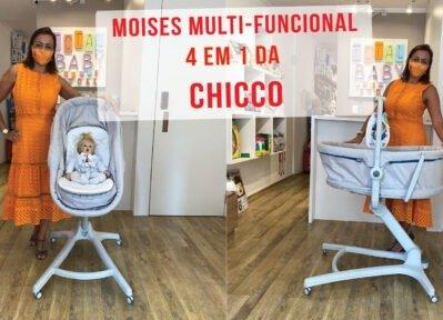Moises que vira cadeira Chicco