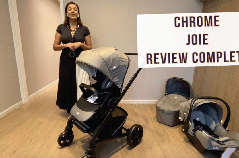 Carrinho de bebê Joie Chrome
