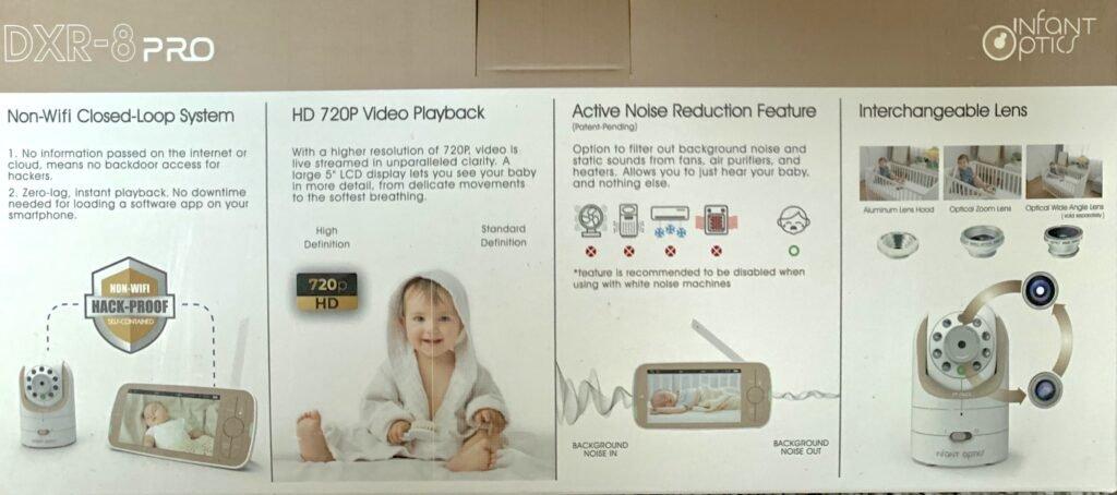 babá eletrônica com vídeo Infant optics